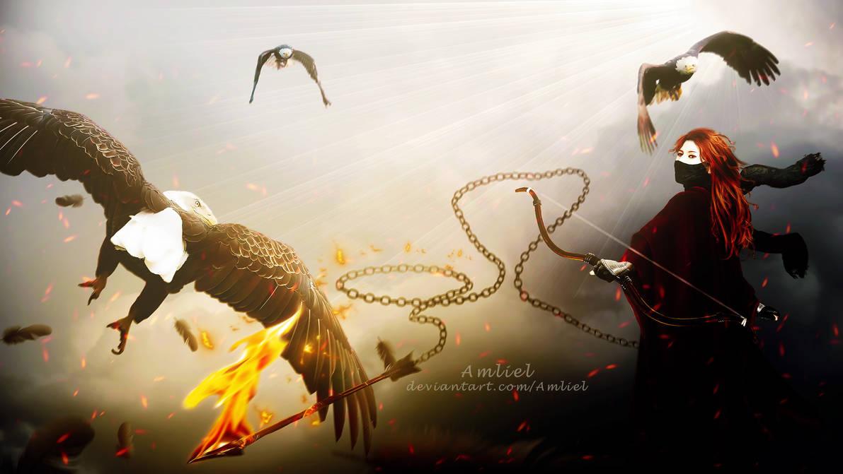 The Eagle Huntress by Amliel