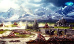 Land Of Wind And Fire by Amliel