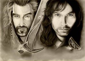 The Hobbit. Thorin and Kili