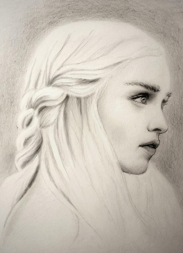 Daenerys Stormborn by Adelmort