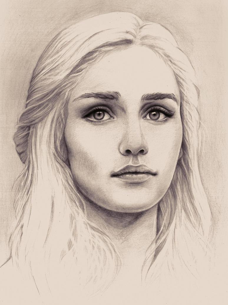 Daenerys Targaryen, The Unburnt Mother of Dragons by Adelmort
