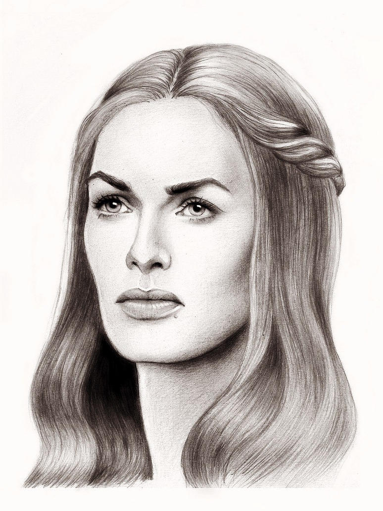Cersei Lannister by Adelmort