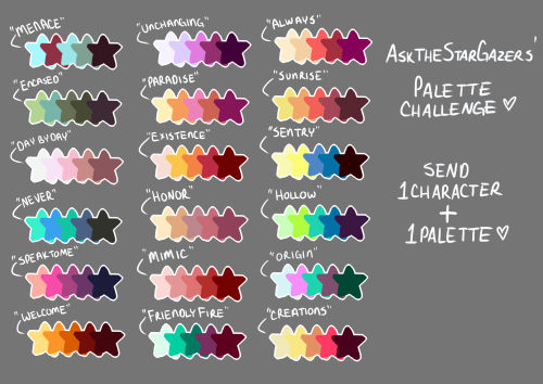 Colour palette - Challenge by Manyaras-Art on DeviantArt