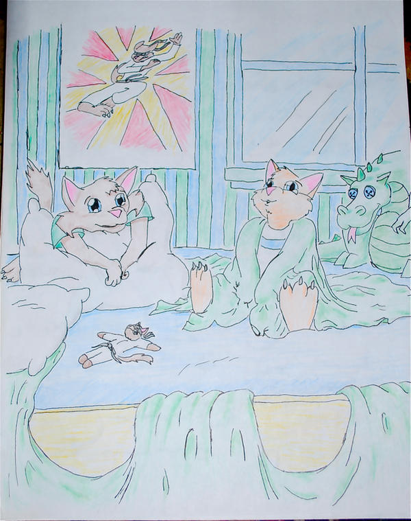 swat kats: as kittens by Kra-ZGirl