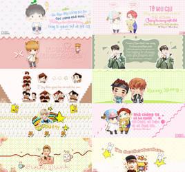 12.EXO Cute Cover by bimttna