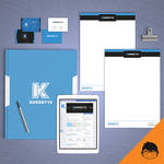 Branding kit design for Kurobyte