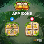word jungle app icons
