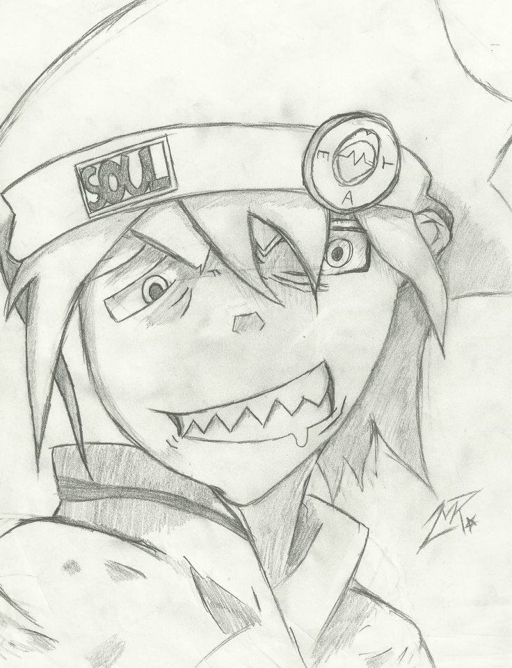 Anime Soul Eater Drawings Soul Eater Drawings Pencil