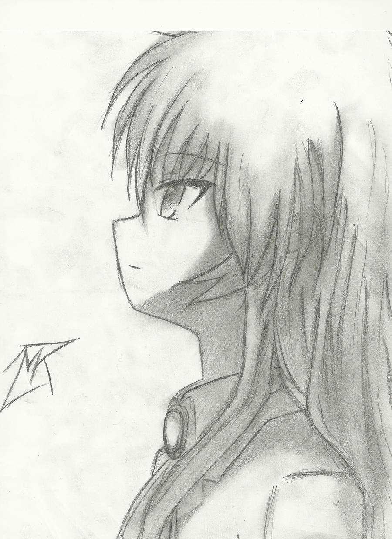 Easy Angel Pencil Drawings Anime Angel Pencil Drawings