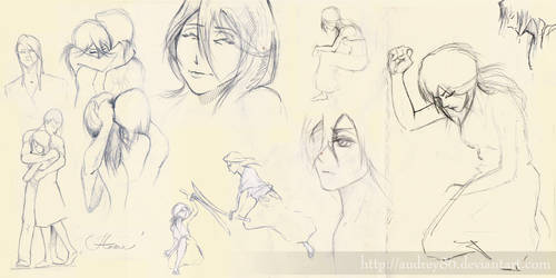 Byasana sketches