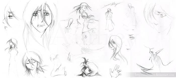 Byasana sketches again