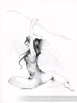 Rukia's Practice - redraw