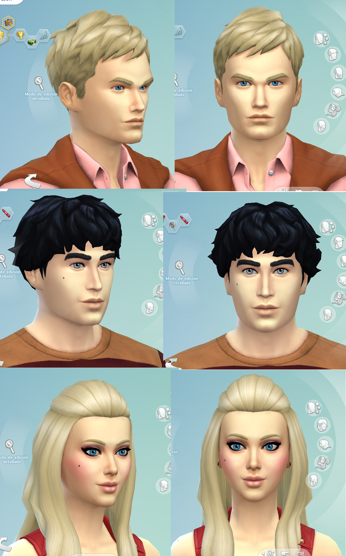 sims by Starebelle