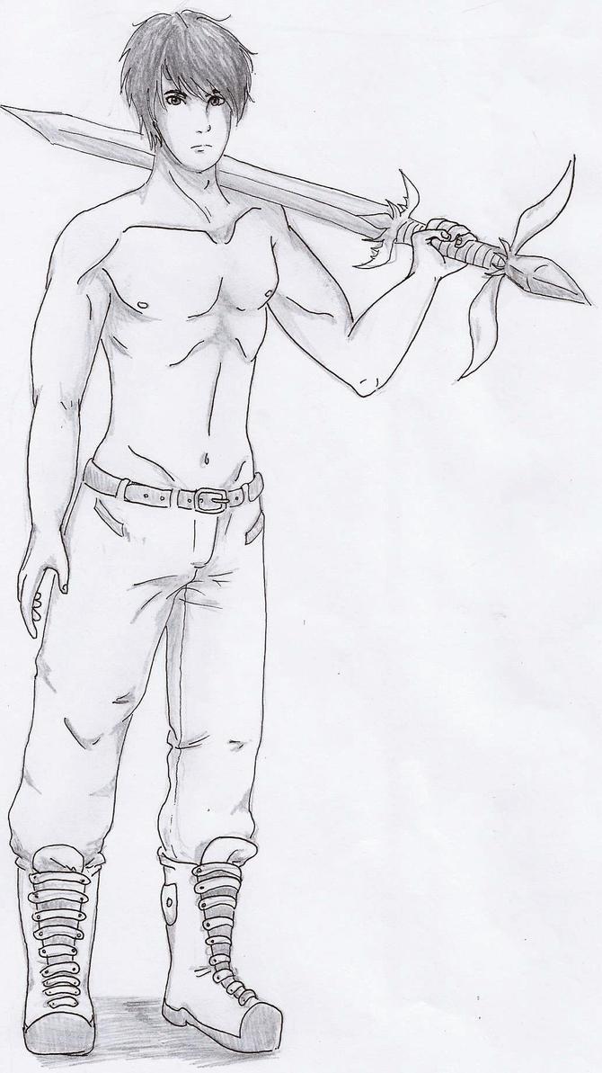 Silver Sketch by Starebelle