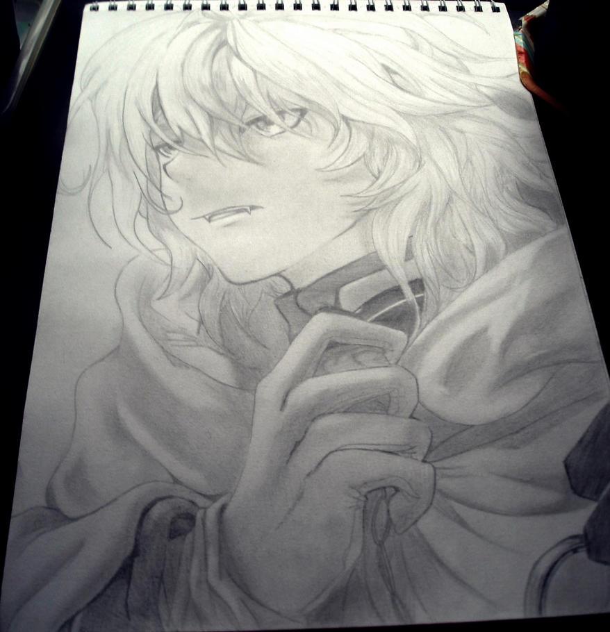 Mika - Owari no seraph by Starebelle