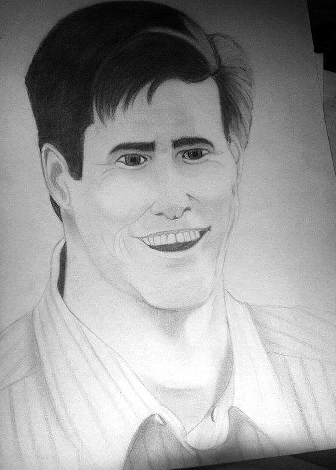Jim Carrey - Portrair by Starebelle