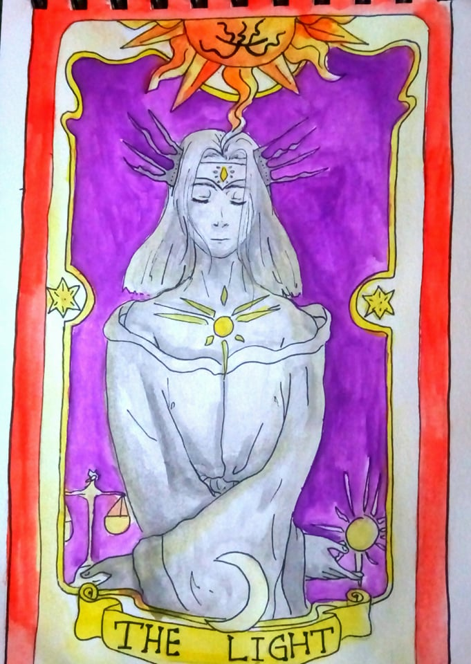Clow Card - THE LIGHT (OC) by Starebelle