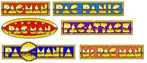 Pac-Man Special Color Edition Logos