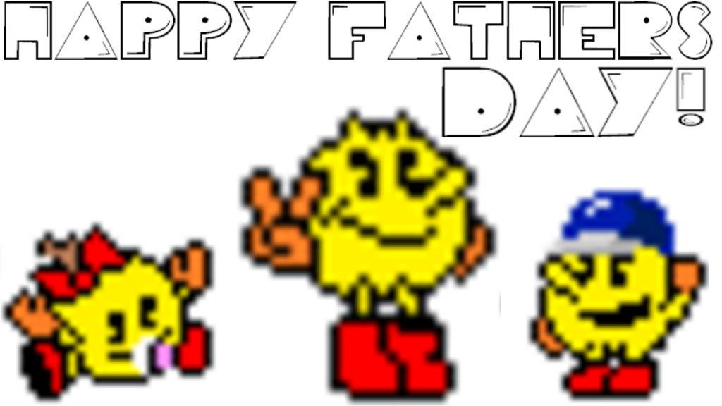 Happy Father's Day from Pac-Man's Family by SuperStarfy2002