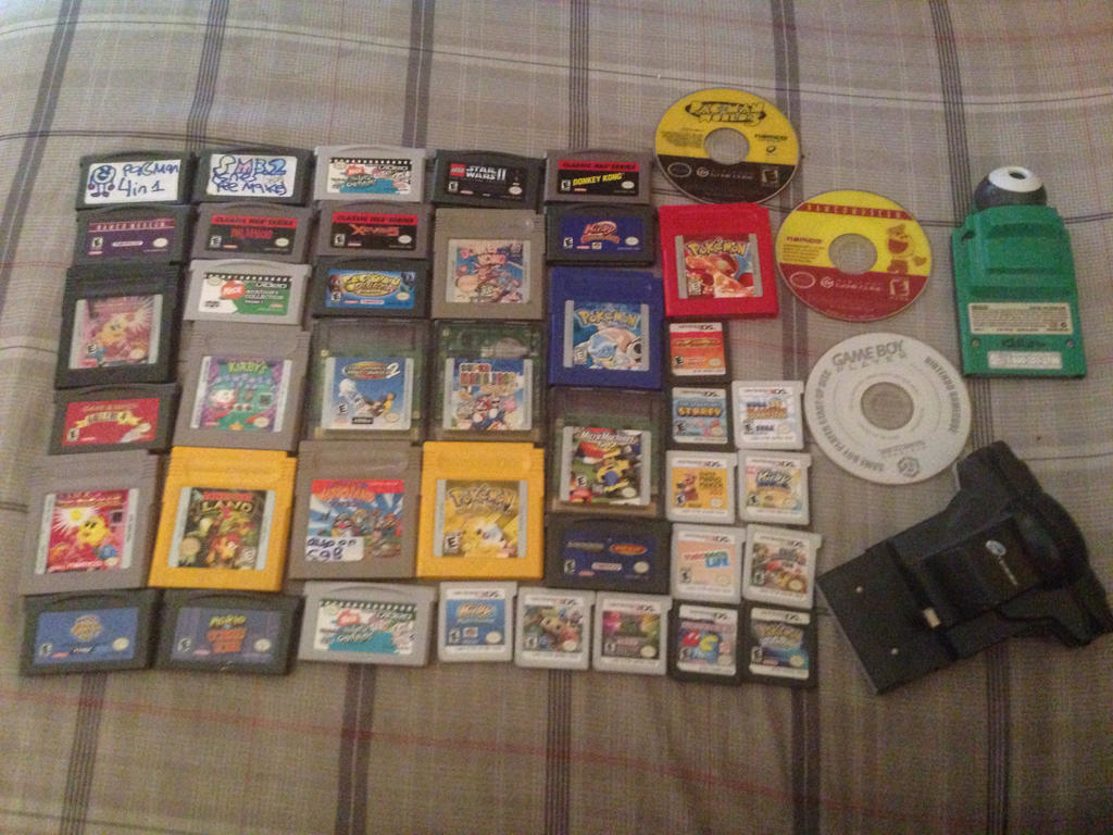 My Nintendo Collection (Disc/Cartridge) by SuperStarfy2002