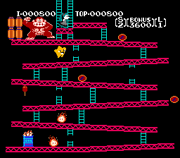Starfy and Miku in Donkey Kong by SuperStarfy2002
