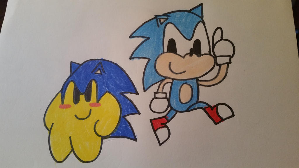 Sonic Stars by SuperStarfy2002