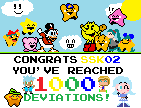 I've reached 1000 deviations!!! by SuperStarfy2002