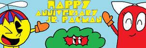 Happy Anniversary Jr. Pac-Man