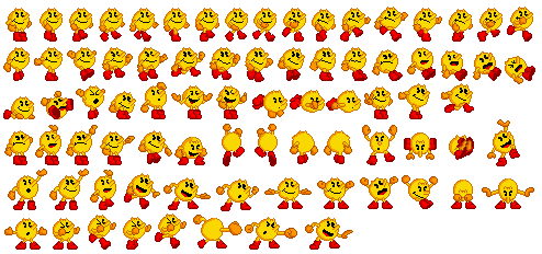 16-Bit Pac-Man (complete) by SuperStarfy2002