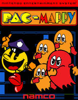 Pac-Mappy Cover Art by SuperStarfy2002