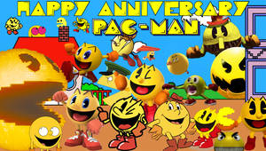 Pac-Man's 39th Anniversary by SuperStarfy2002