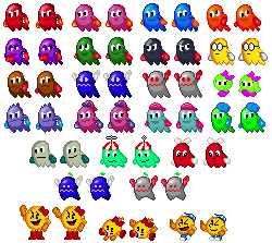 more 16-bit Pac-Man awesomeness by SuperStarfy2002