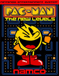 Pac-Man: The New Levels Box Art by SuperStarfy2002