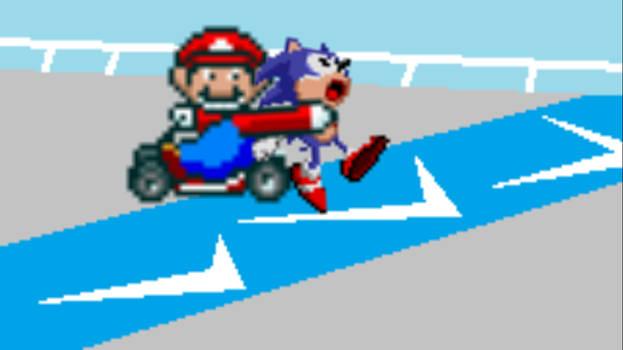 You Like-a to go fast, huh?