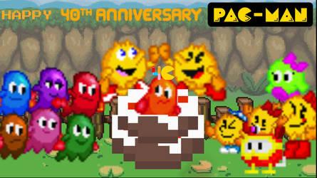 Happy 40th Anniversary Pac-Man