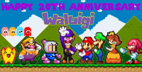Happy 20th Anniversary Waluigi