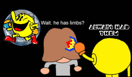 Pac-Man Always had limbs
