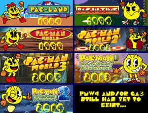 Pac-Man Platformers