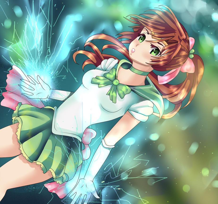 Sailor Jupiter Transformation by AntiqueDoll8