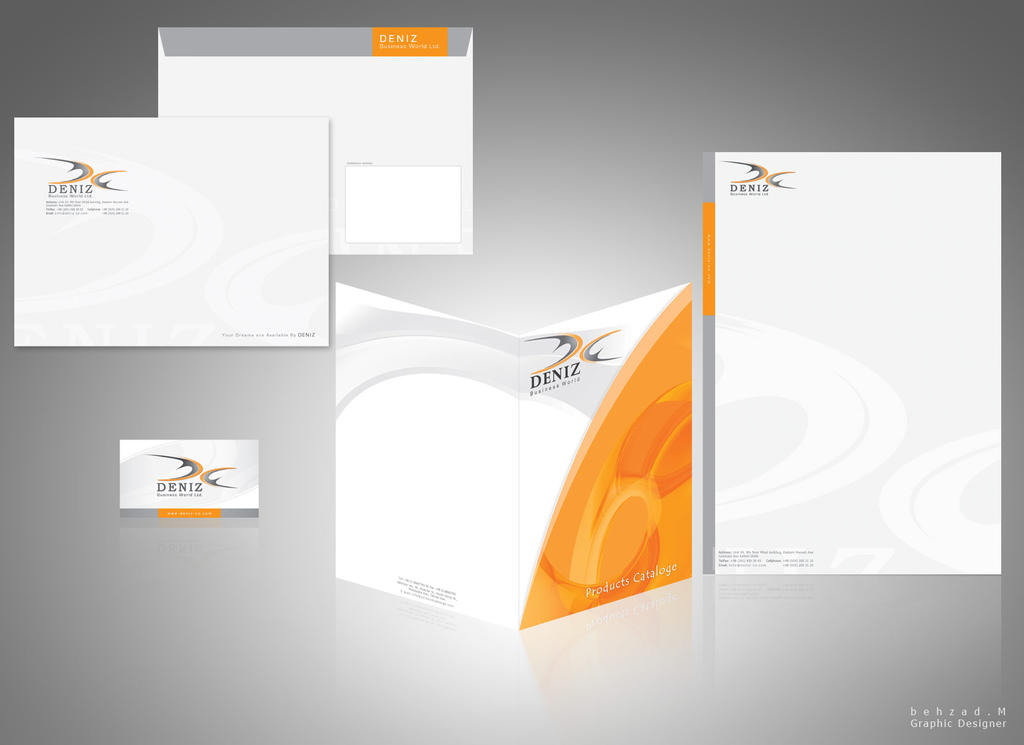 deniz co letterhead design by behzadblack - Letterhead Design Ideas