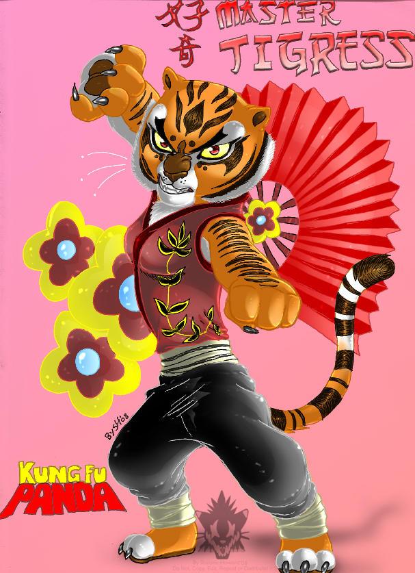 Master Tigress bikini by batsu81 on DeviantArt