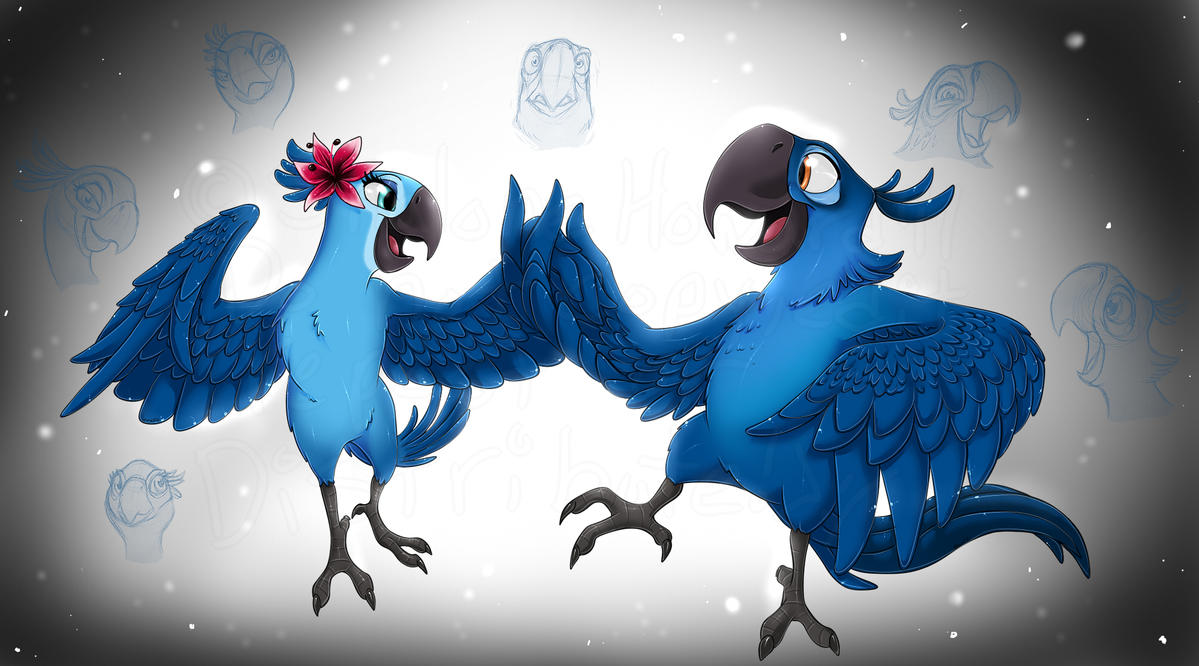 Jewel And Blu By ShaloneSK On DeviantArt