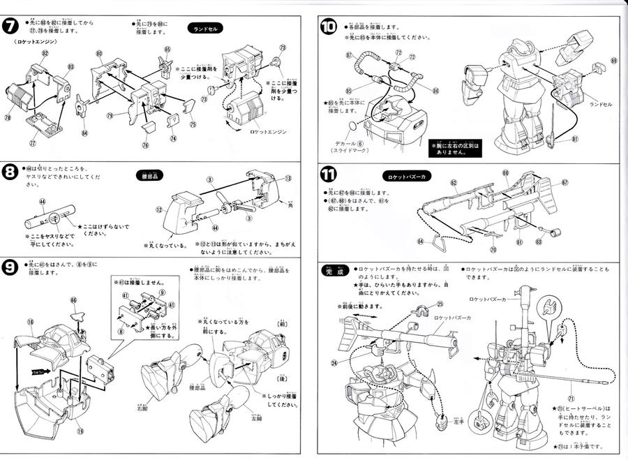 YMS-09 Prototype Dom p4 by rajusikil
