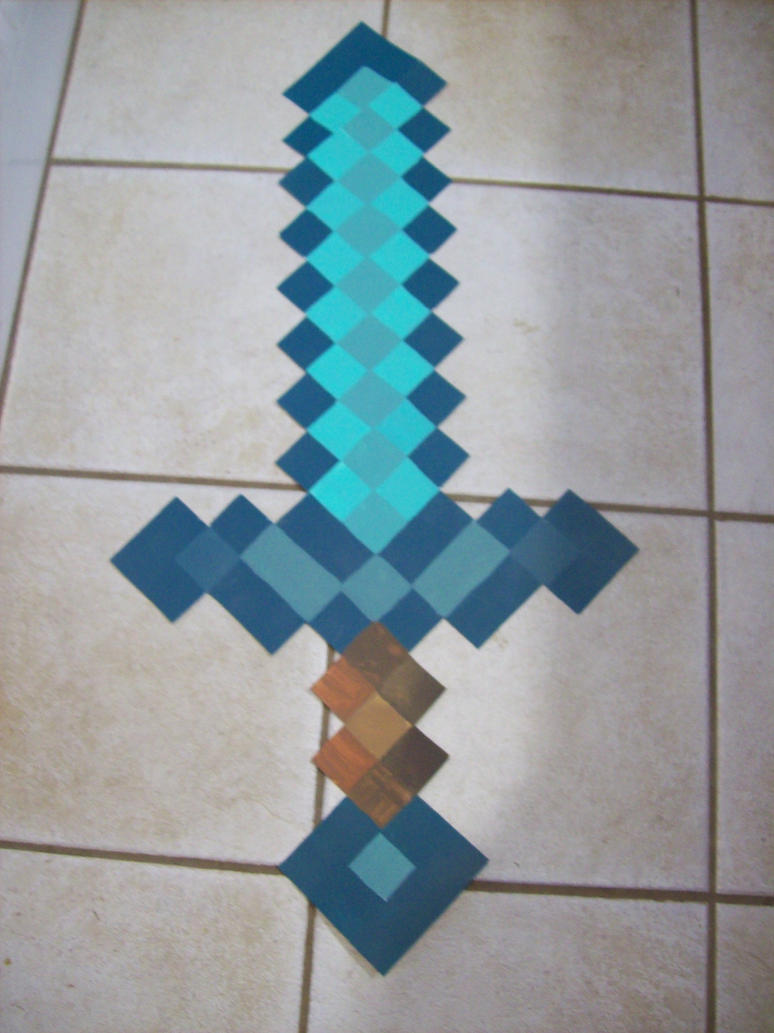 how to get a sword in minecraft