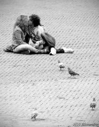 I don't care the people, but U by OrazioFlacco