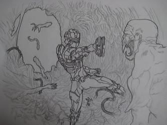 Dead Space by ProcioneDisegnatore