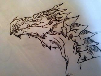 Dragon by ProcioneDisegnatore