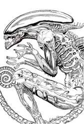 Alien2 by ProcioneDisegnatore