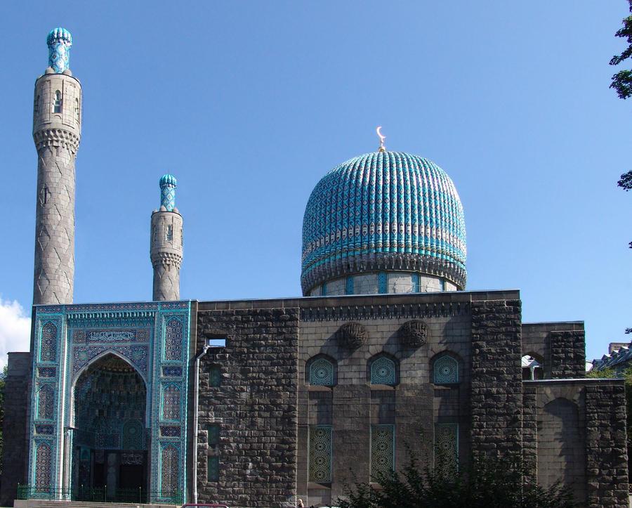 Saint Petersburg Mosque by Zaratra