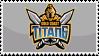 Gold Coast Titans Stamp